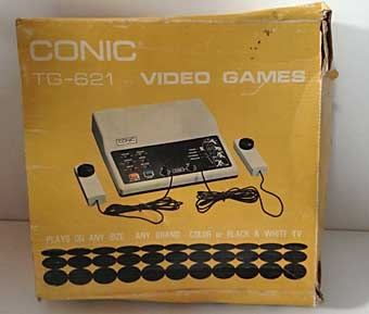 Conic TG/621 Video Games (BOX)
