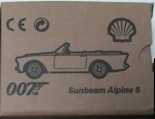 007 - Sunbeam Alpine (BOX)